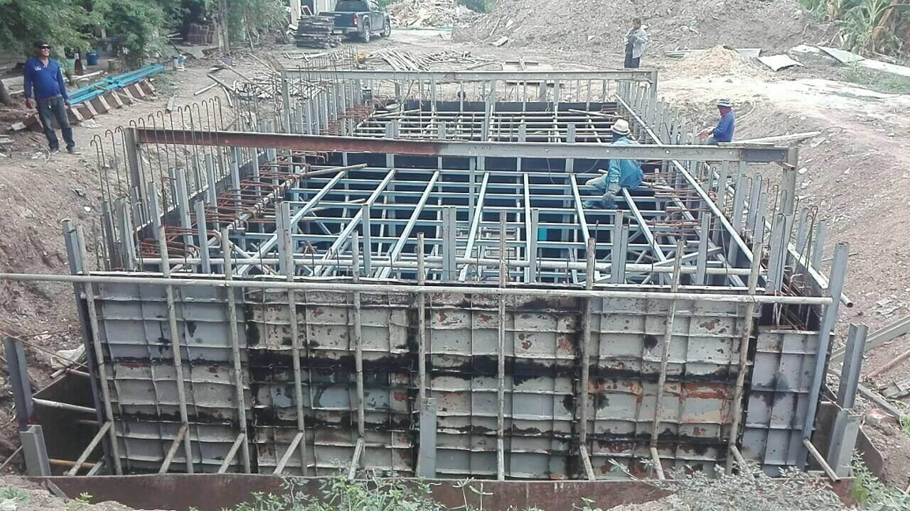 รับเหมาก่อสร้างถังเก็บน้ำใต้ดินและถังเก็บน้ำหอสูง